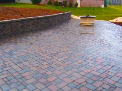 Brick Patios, Retaining Walls, Walkways